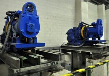 motores cuarto de máquinas