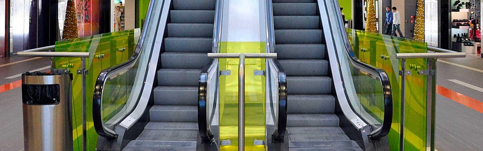 escaleras mecanicas centro comercial